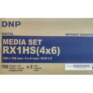 DNP DS-RX1-HS 4x6 Media Pack