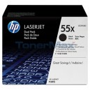 HP 55X Black Dual Pack